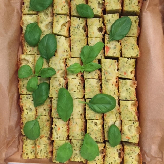 Supremely Tasty Savoury Slice – Vegetarian